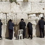 Иерусалим. Молитва у древних камней Второго Храма