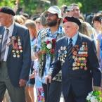 День Победы на параде ветераны 2